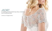 Chesney Jacket By Maggie Sottero - Swarovski Crystal Bolero Jacket
