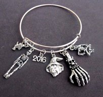 Halloween Party Bracelet,halloween Expandable Bangle Bracelet,