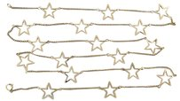 Other Chic,Ladies,14k,Yellow,Gold,Fancy,Star,37.5,Chain,Necklace,
