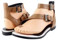Kenneth Cole Ditmas Leather Womens Designer Open Toe Strappy Sand Sandals