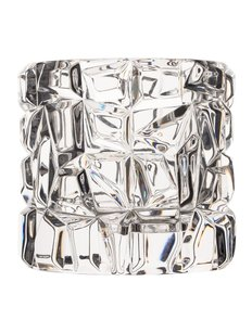 Tiffany & Co. Crystal Sierra Votive Candle Holder Decorative Objects