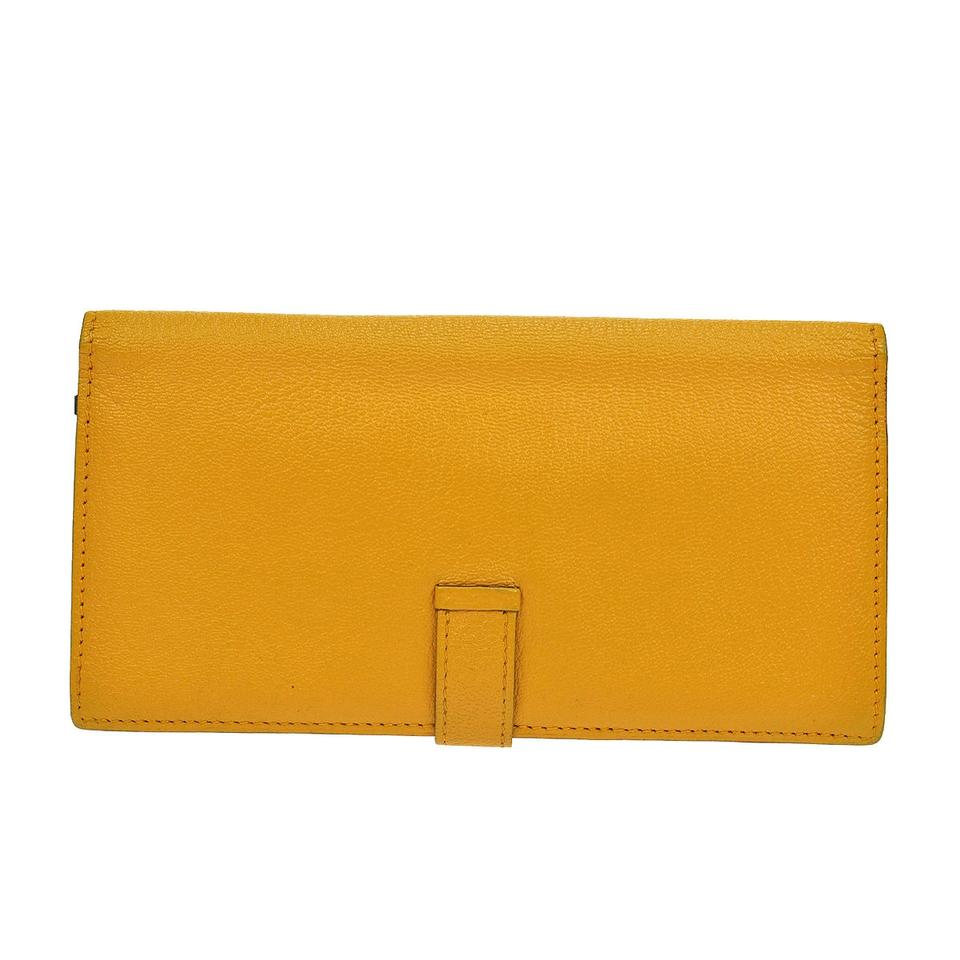 hermes kelly wallet yellow - photo #16