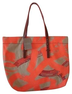 Miss Albright Anthropologie Lexington Canvas By Tote