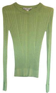 & Other Stories Ribbed Ribbed Sheer See Through Sweater