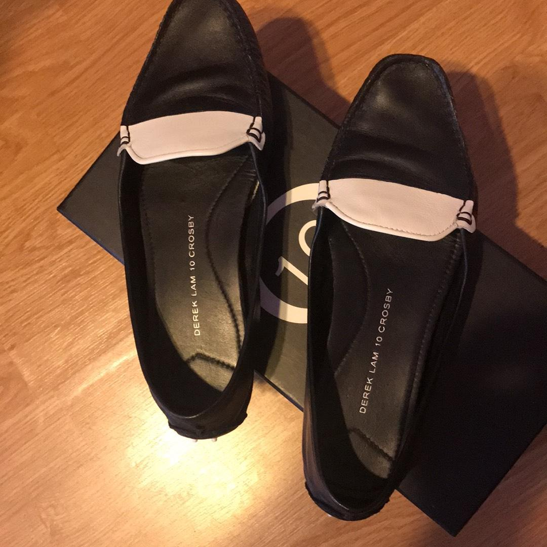Derek Lam 10 Crosby Malin Leather Loafers cheap sale visit countdown package cheap price cheap sale 2014 new buy cheap price best sale MHx9fCBnU