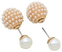 2 Chic Double Sided Pearl Earring Celebrity Inspired
