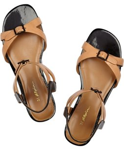 3.1 Phillip Lim Black/Beige Sandals