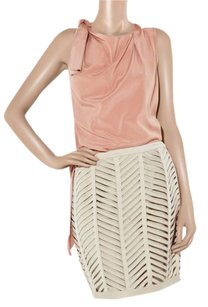 3.1 Phillip Lim Date Night Night Out Silk Draped Party Top Blush Pink
