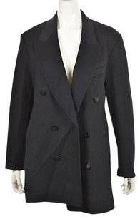 3.1 Phillip Lim Womens Casual Wool Blend Jacket Pea Coat
