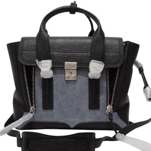 3.1 Phillip Lim Satchel in Denim Black