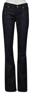 7 For All Mankind Womens Blue Boot Cut Jeans