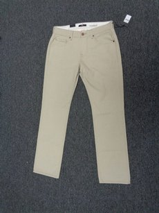 7 For All Mankind Seven Tan Standard Cotton Sma2093 Straight Leg Jeans