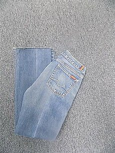 7 For All Mankind Stretchy Straight Leg Jeans