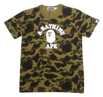 A Bathing Ape T Shirt Green