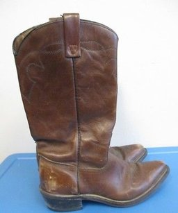 Acme Women Solid Brown Boots