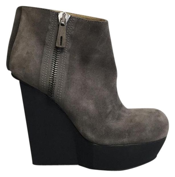 Acne Studios Suede Wedge Booties low shipping fee cheap online clearance pictures discount footlocker sale find great low shipping online O28fJ6RK2T