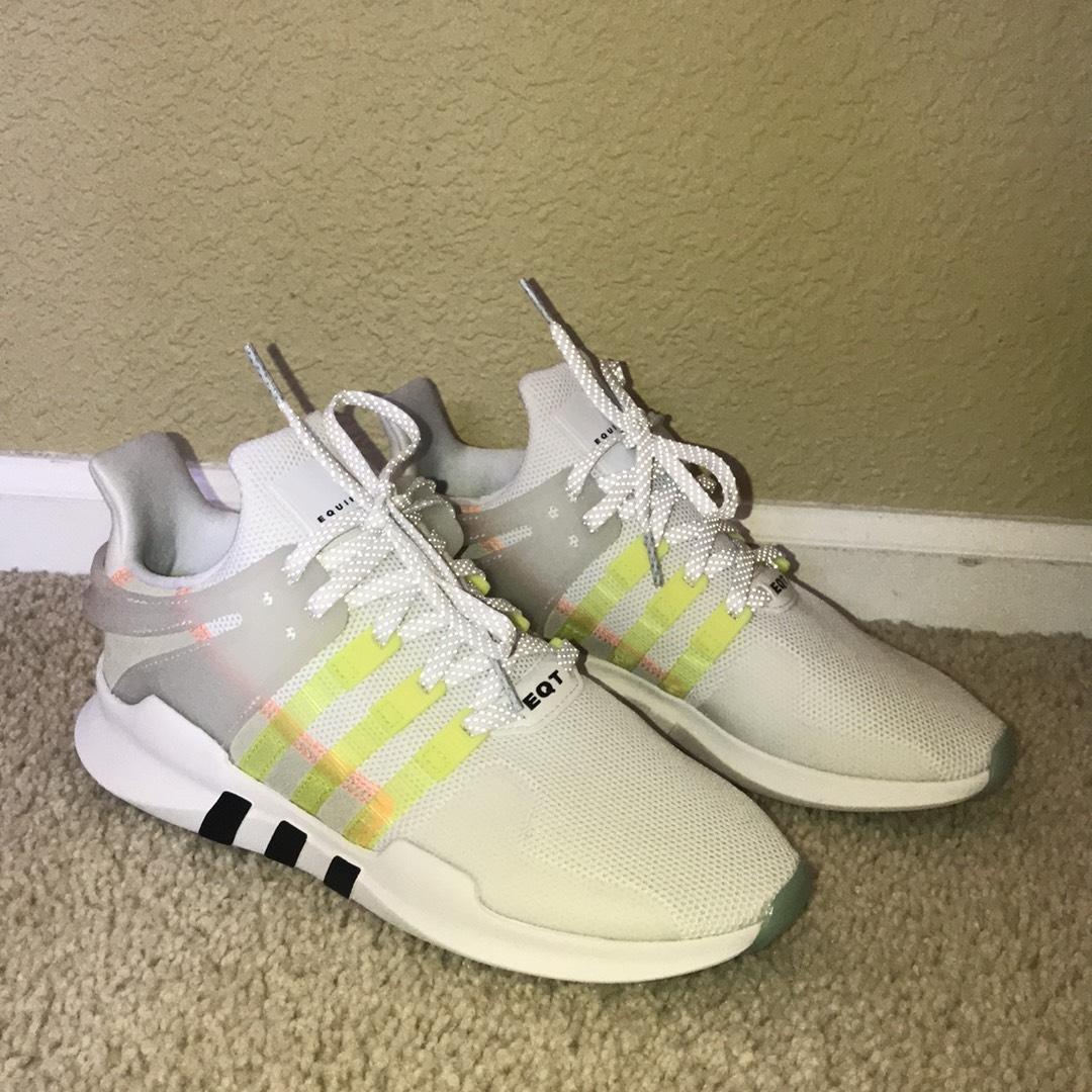 pretty nice 34780 40fa5 ... white athletic 89dfd 23724 clearance adidas athleisure casual white  athletic 89dfd 23724  official release date april 11 2018 adidas eqt  cushion adv ...