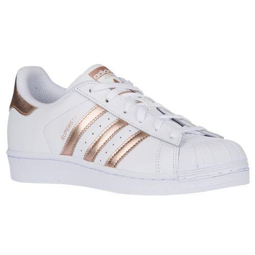 adidas superstar with copper toe