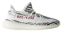 adidas Yeezy Sneakers White Zebra Athletic