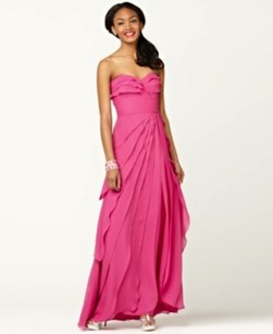 Adrianna Papell Chiffon Evening Tiered Dress