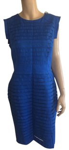 Adrianna Papell short dress Blue. on Tradesy