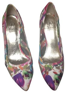 Adrianna Papell purple, green Pumps