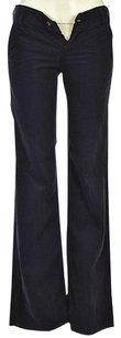 AG Adriano Goldschmied Womens Navy Corduroy 25r Textured Trousers Pants