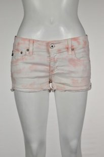 AG Adriano Goldschmied Womens Shorts Pink