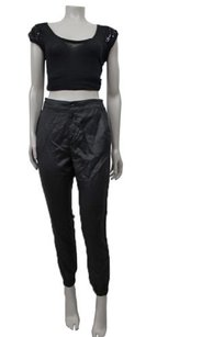 AG Adriano Goldschmied By Anthropologie Faux Leather Pants