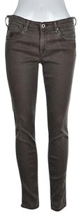 AG Adriano Goldschmied Legging Ankle Womens Brown 29r Skinny Jeans