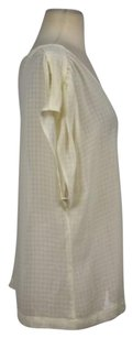 AG Adriano Goldschmied Womens Top Ivory