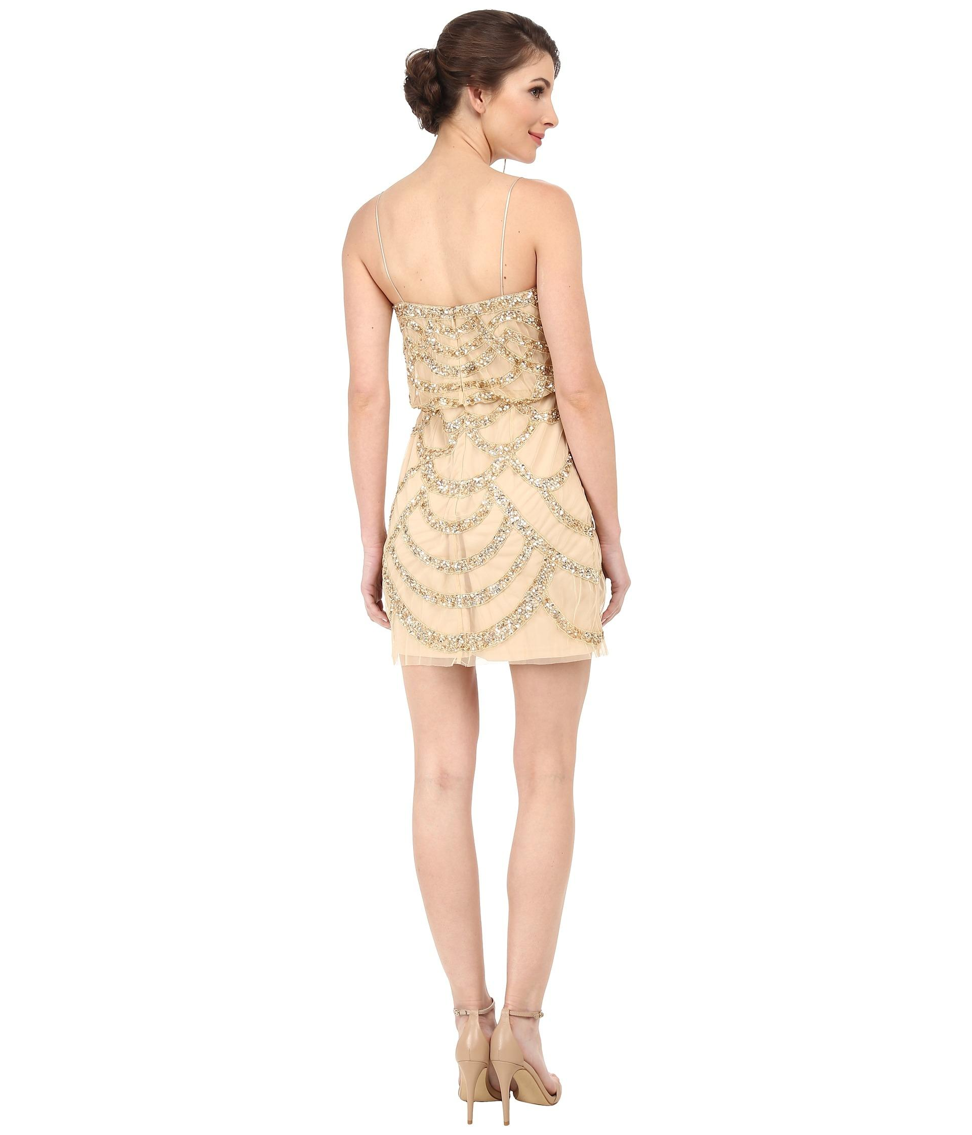 Light Gold Cocktail Dresses