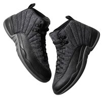 Air Jordan Grey and Black Athletic