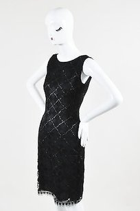 Akris Metallic Mesh Dress
