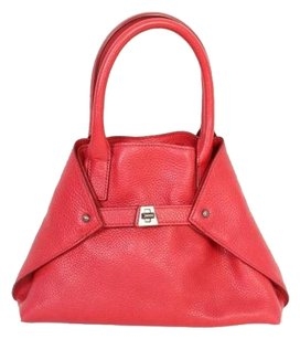 Akris Tote in Red