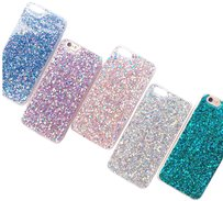 AL RAD Perfect Glitter iPhone 7 6 6S Plus Silicone Cases Covers