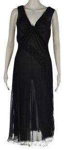 Alberta Ferretti Womens Navy Dress