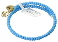 Alex and Ani Alex And Ani Canopy Wrap Sea Blue Expandable Ewb Bracelet Russian Gold