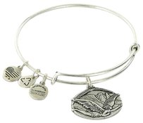 Alex and Ani Alex And Ani A14eb88rs Guardian Of Freedom Expandble Bracelet Russian Silver