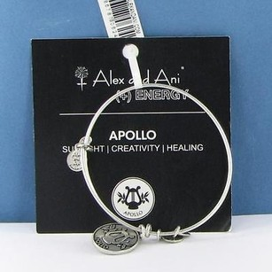 Alex and Ani Alex Ani Bracelet Apollo Expandable Russian Silver Wire Bangle