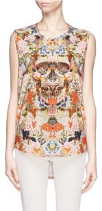 Alexander McQueen Relaxed Fit Comfortable Top Brown