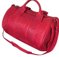 Alexander Wang Rocco Rockie Satchel in Red