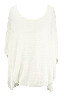 Alfani Womens Ivory Sweater