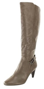 Alfani Good Womens Man Made Nbw gray Boots