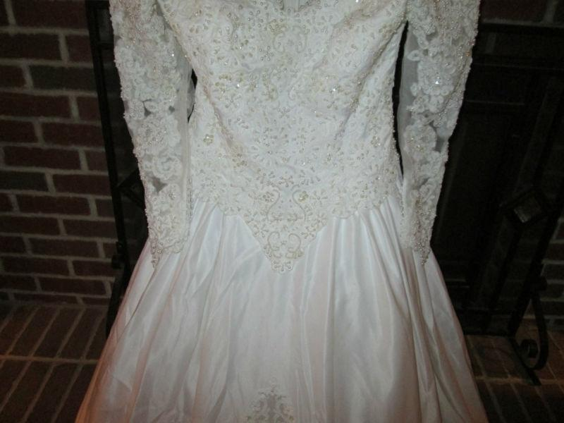 Alfred Angelo Made For Jc Penney Formal Wedding Dress Size Petite 10 (M)    Tradesy