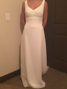 Alfred Angelo New A-line Beaded Gown Wedding Dress