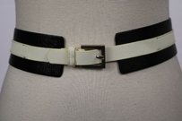 Alice + Olivia Alice Olivia Womens Black Striped Belt Leather Casual