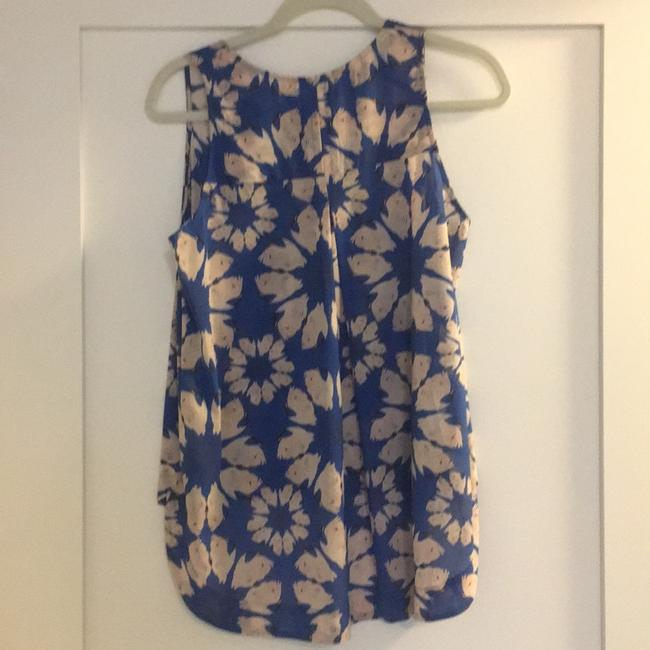 Alice + Olivia Top Blue and white