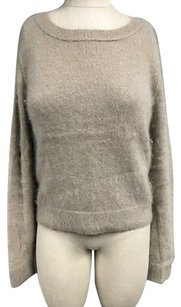 AllSaints All Angora Blend Soft Scoop Neck Long Sleeve Sma11777 Sweater