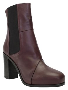 Amanda Gregory Leather WINE Boots